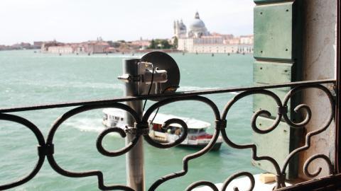 Sensor de Divirod instalado en Venecia.
