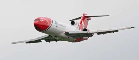 T2 Aviation tiene al único B727 operativo de Europa. Wikipedia