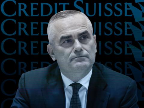 Thomas Gottstein, CEO de Credit Suisse. Arnd Wiegmann/Reuters; Skye Gould/Business Insider