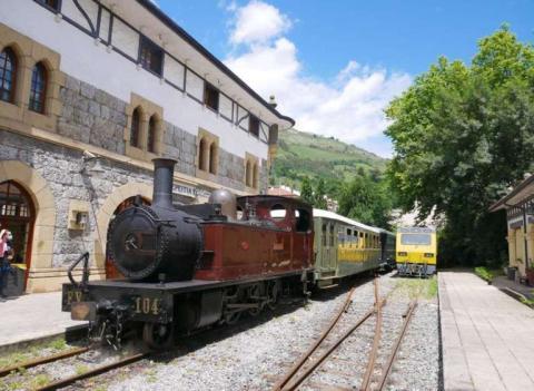 La locomotora Aurrera data de 1898.
