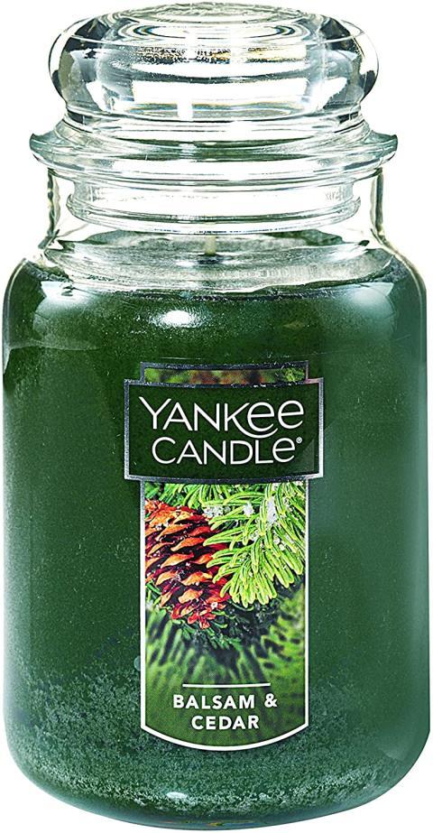 Vela Yankee Candles Balsam & Cedar