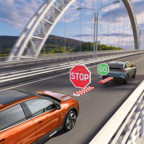 velocidad adaptativa stop&go Citroën C4