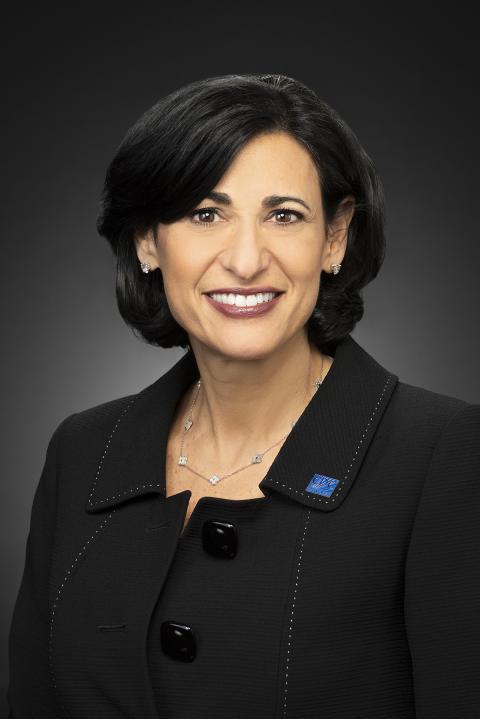 La directora de los CDC, Rochelle Walensky. CDC