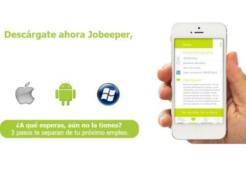 Imagen de portada en la web oficial de Jobeeper.
