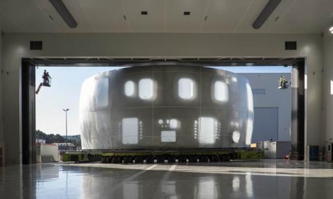 Una imagen del reactor nuclear ITER.