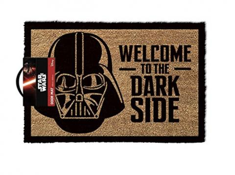 alfombrilla puerta darth vader star wars