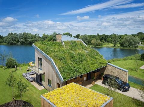 Casa Habitat en el Lago Spinney