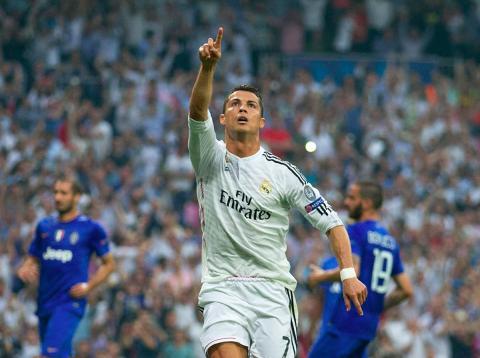 Cristiano Ronaldo, jugador de fútbol del Real Madrid.