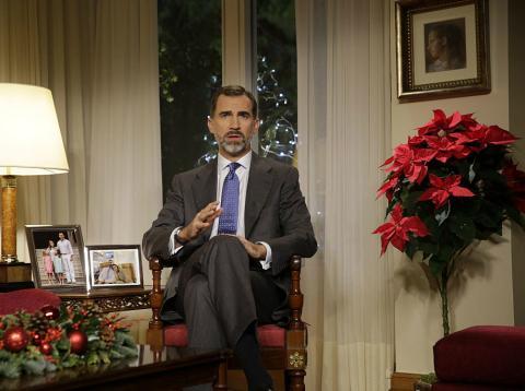 Discurso de Navidad del rey Felipe VI en 2014