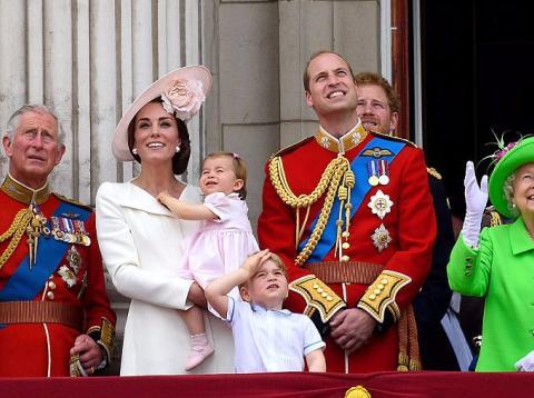 Familia Real Británica 1