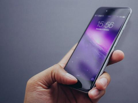 Huella dactilar en el móvil