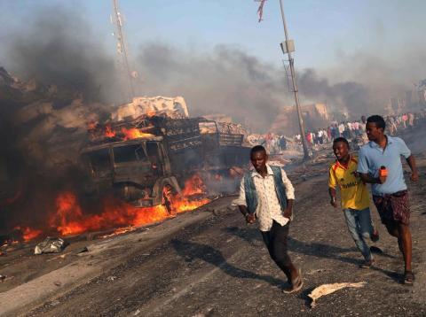 Atentado de ISIS en Somalia