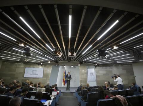 Mariano Rajoy valora los resultados electorales de Cataluña