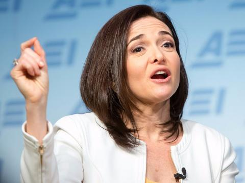 Sheryl Sandberg, Directora Ejecutiva de Facebook