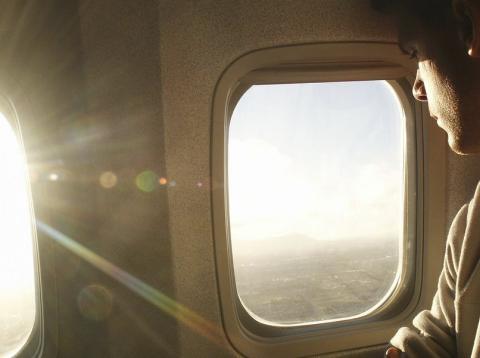 Ventanilla del avión