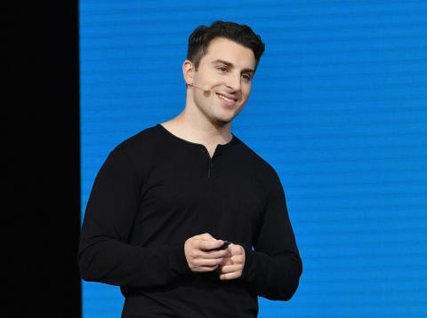 Brian Chesky, consejero delegado de Airnbnb.
