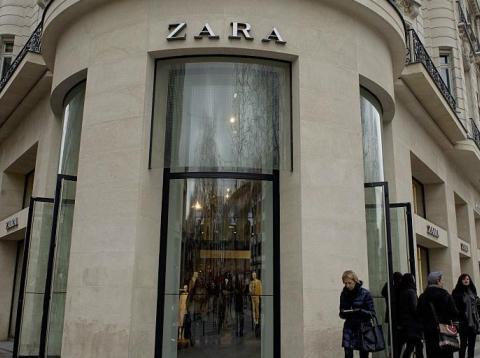 Un establecimiento de la cadena de moda Zara