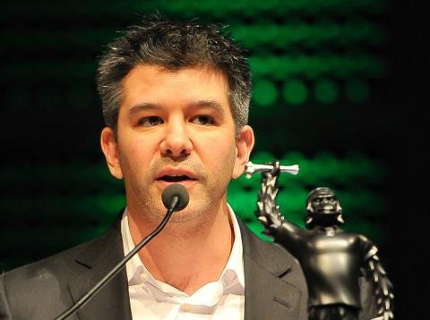 El exconsejero delegado de Uber, Travis Kalanick,