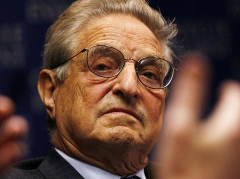 Una imagen del filántropo y magnate inversor George Soros