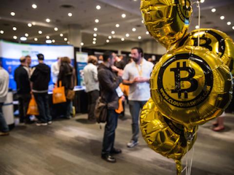 Globo de Bitcoin