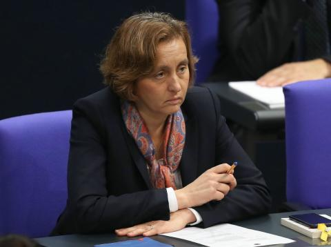 La líder del partido de extrema derecha de Alemania AfD Beatrix von Storch