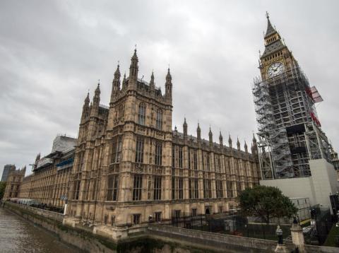 Imagen del Parlamento de Reino Unido en Londres