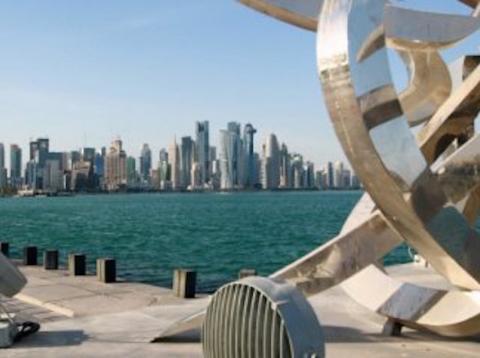 Qatar 2022 estadios parados por bloqueo