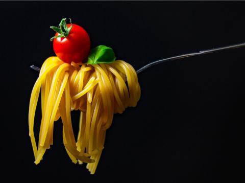 alimentos ideales según tipos de entrenamiento: pasta