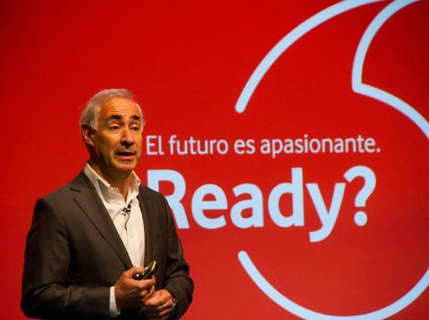 Antonio Coimbra es consejero delegado de Vodafone España.