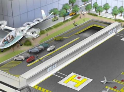 Los coches voladores de Uber