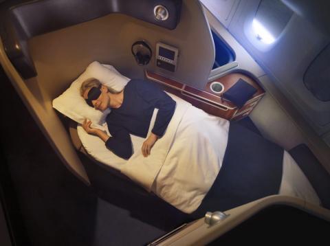 Cabinas de primera clase en Qantas