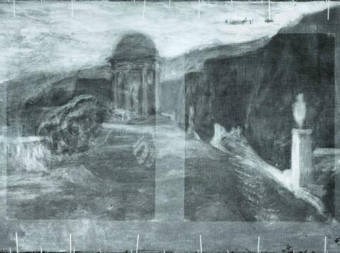 Uno de los cuadros ocultos de Picasso descubierto con rayos X.