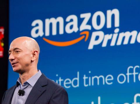 El director ejecutivo de Amazon, Jeff Bezos