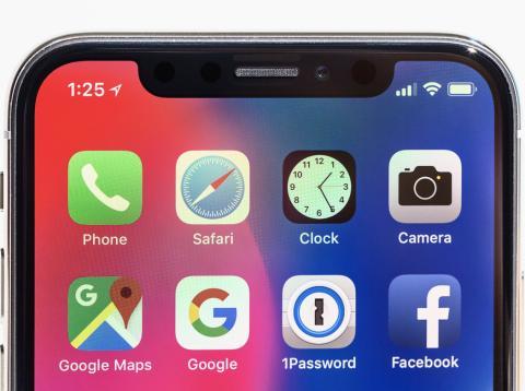 iPhone X Detalle