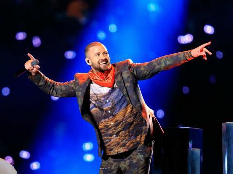 Justin Timberlake  LII Super Bowl