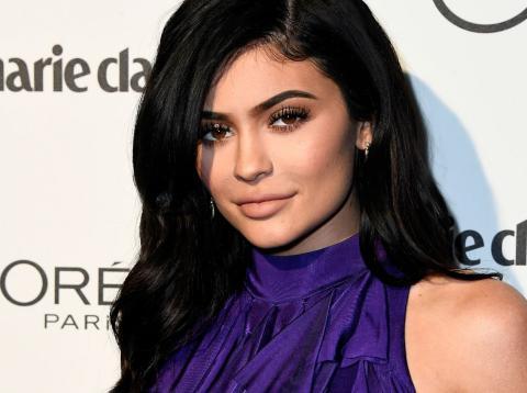 Kylie Jenner en una fiesta en enero de 2017 en Los Angeles, California