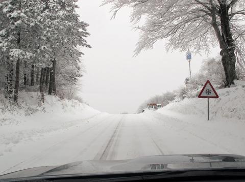 movilidad invernal: carretera
