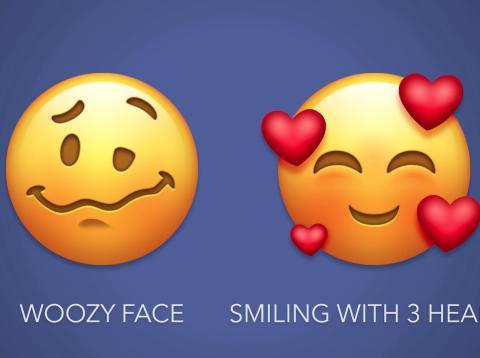 Nuevos emojis para smartphone 2018