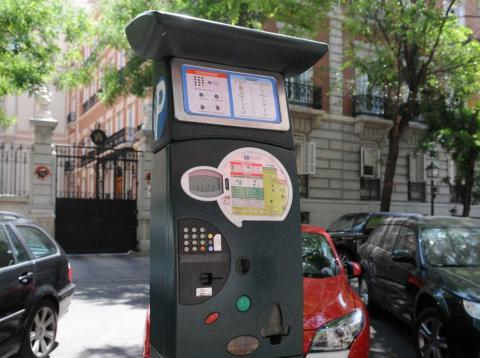 Parquímetros Madrid