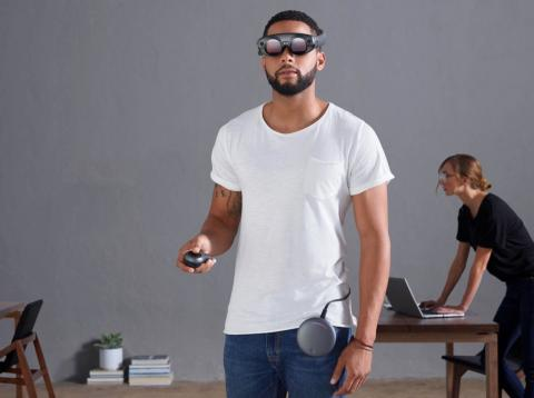 El set de gafas de realidad aumentada de Magic Leap