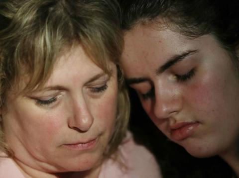 Dos de las afectadas por el tiroteo en una escuela secundaria del estado de Florida (Estados Unidos)