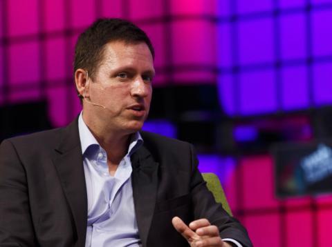 Peter Thiel es uno de los inversores más conocidos de Silicon Valley.