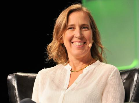 La CEO de YouTube, Susan Wojcicki.