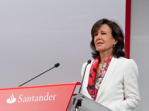 Ana Botín, presidenta ejecutiva del Santander.