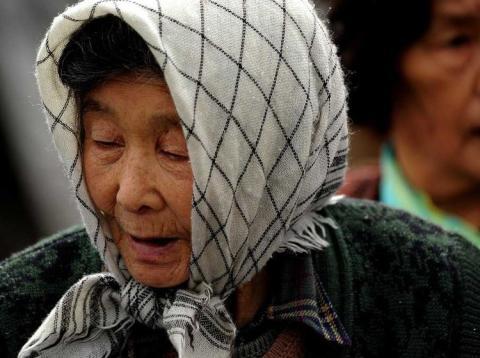 Ancianos japoneses encarcelados voluntariamente