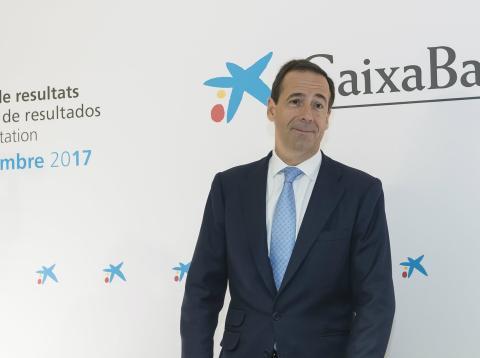 Gonzalo Gortázar, consejero delegado de CaixaBank y presidente de VidaBank.