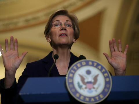 Senado EE.UU. política económica sobre bancos