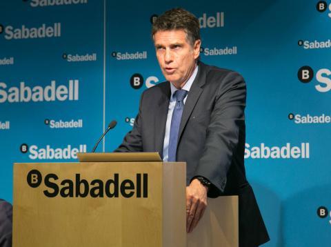 José Guardiola, consejero delegado de Sabadell.