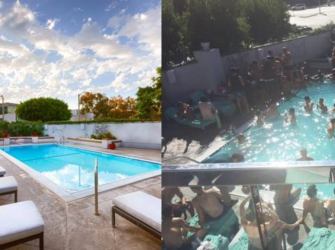 piscina: expectativa vs realidad
