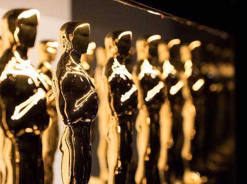 Estatuillas de la gala de los Premios Oscar 2018